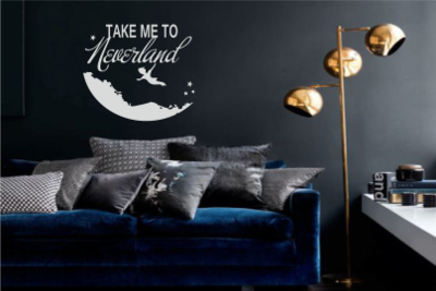 Muursticker Neverland